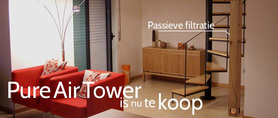 The Pure Air Tower is nu te koop